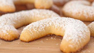 Vanille-Kipferl für Diabetiker