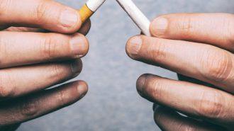 Vorsatz für das neue Jahr: Endlich mit dem Rauchen aufhören