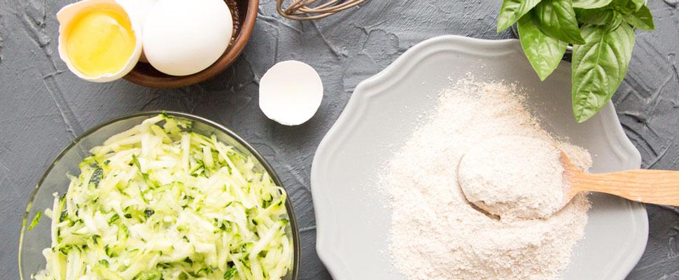 Low-Carb Zucchini-Reibekuchen für Diabetiker