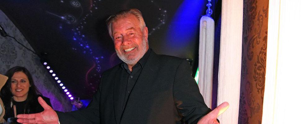 TV-Moderator Harry Wijnvoord hat Diabetes