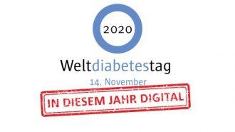Weltdiabetestag 2020: in diesem Jahr digital